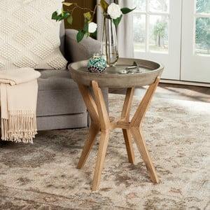 Betonový zahradní stolek vhodný do exteriéru Safavieh Dover