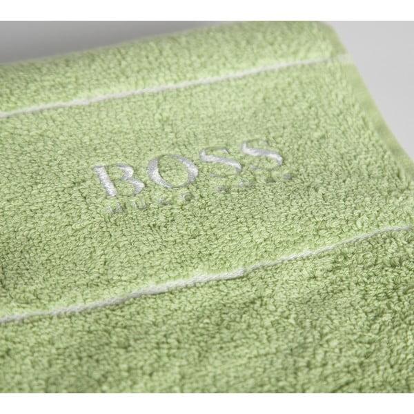 Ručník Hugo Boss Plain 50x100 cm, zelený