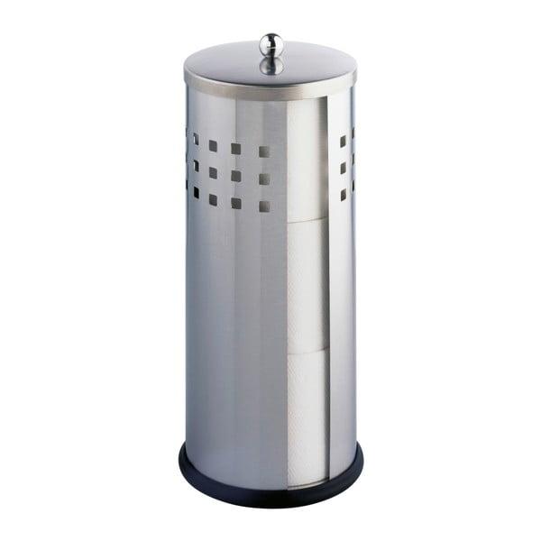 Szczotka do WC w srebrnym kolorze Wenko Ancona Matt