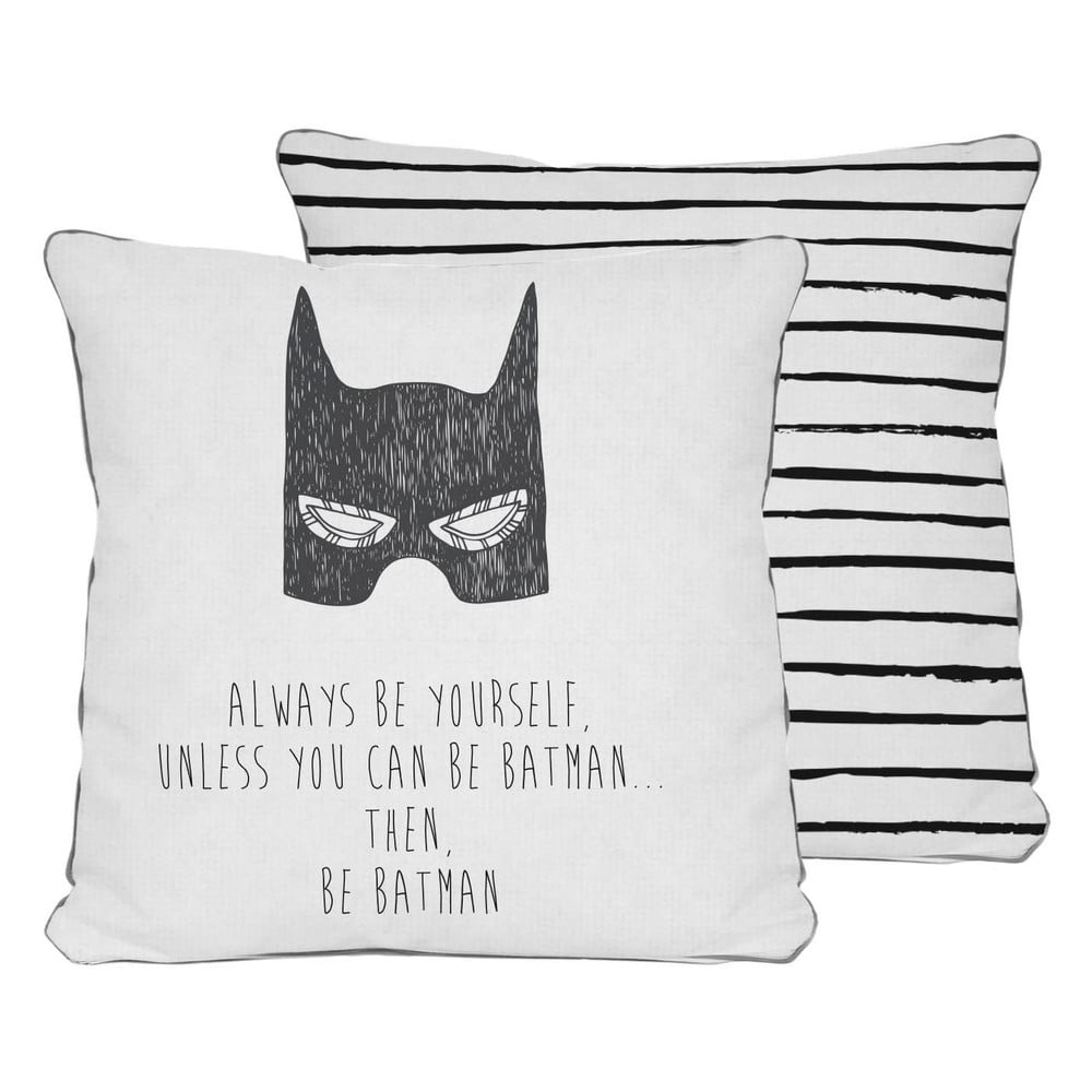 oboustrann pol t little nice things batman 45 x 45 cm bonami. Black Bedroom Furniture Sets. Home Design Ideas
