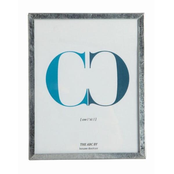 Rámeček s obrázkem Letra C, 16x12