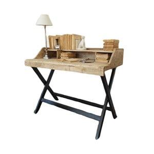 Pracovní stůl sdeskou zmangového dřeva Orchidea Milano Industrial
