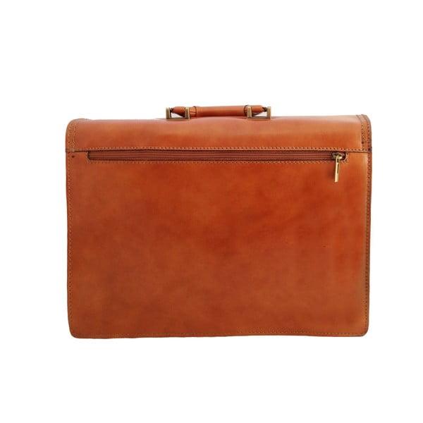 Kožená kabelka/kufřík Primitivo, medová