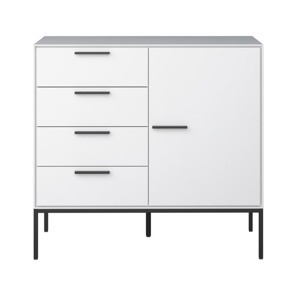 Comodă Steens Slimline, 87 x 93 cm, alb