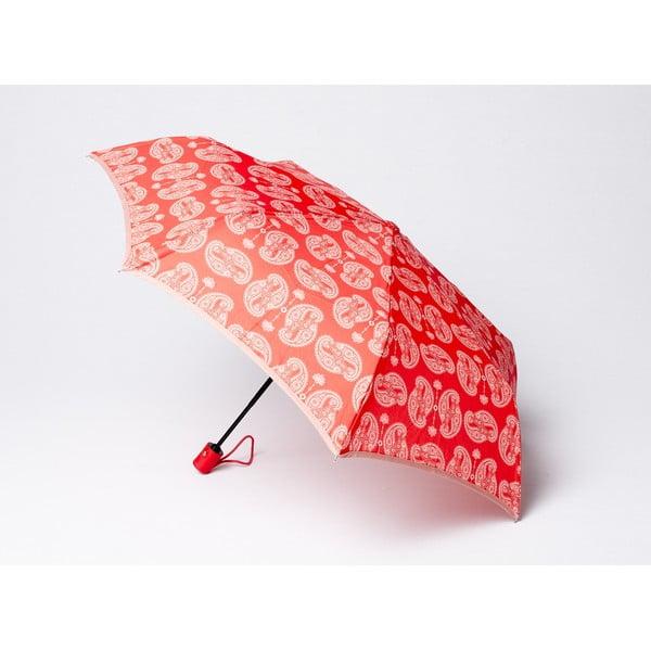 Skládací deštník Cashmere, korálový