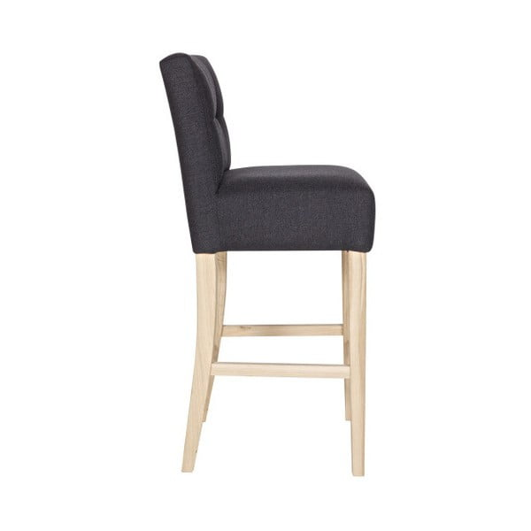 Tmavě šedá barová židle De Eekhoorn Taupe