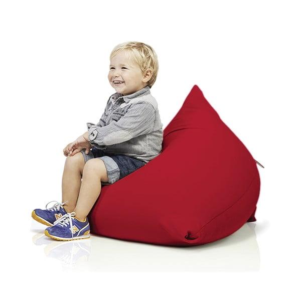 Červený sedací vak pro celou rodinu Terapy Sydney