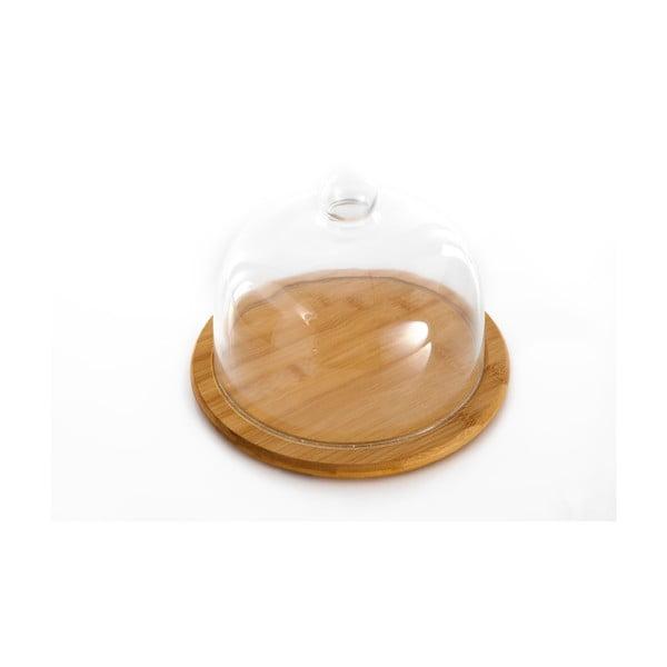 Platou și capac pentru prăjituri Bambum Cake, ø 20 cm