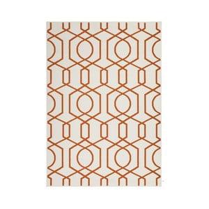 Oranžovo-šedý koberec Kayoom Stella 400 Orange, 200x290cm
