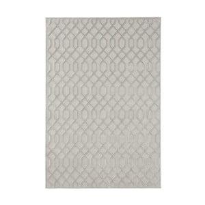 Šedý koberec Mint Rugs Shine Karro, 80 x 125 cm