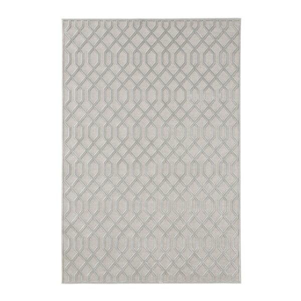 Šedý koberec z viskózy Mint Rugs Caine, 80 x 125 cm