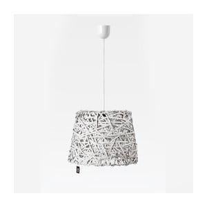 Stropní světlo Roll, 35x29 cm, bílé