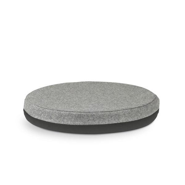 Obsoutranný sedací polštář Otto, černý/šedý
