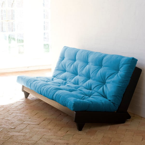 Rozkládací pohovka Karup Fresh Wenge/Horizon Blue