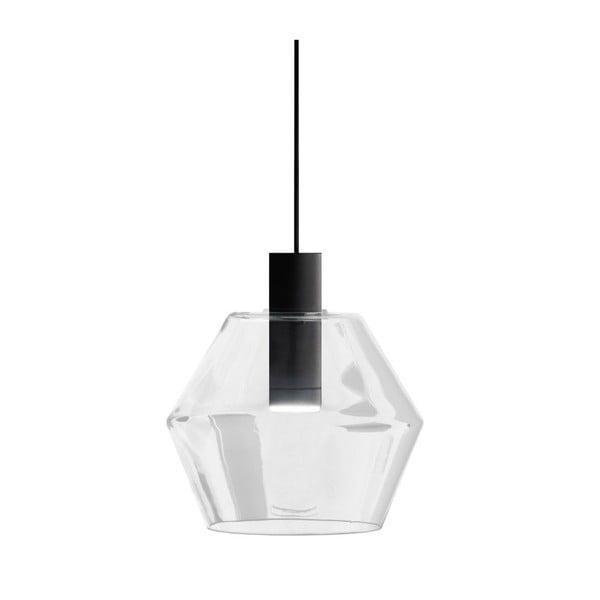 Černo-bílé závěsné svítidlo Markslöjd Diamant
