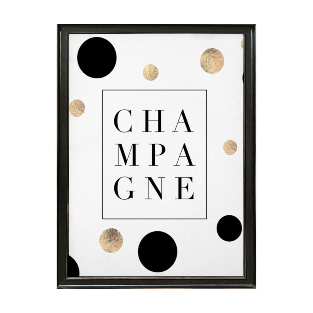 poster nr mat deluxe champagne 70 x 50 cm bonami. Black Bedroom Furniture Sets. Home Design Ideas