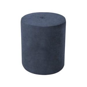Tmavě modrá béžová taburetka Kooko Home Motion, ø40cm