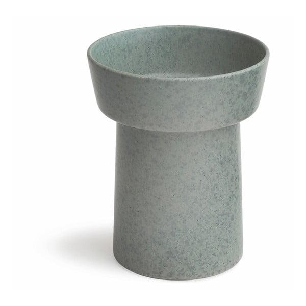 Vază din ceramică Kähler Design Ombria, înălțime 20 cm, verde