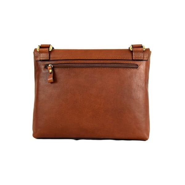 Kožená taška Santo Croce 108720 Brown