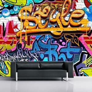 Velkoformátová tapeta Graffiti, 315x232 cm