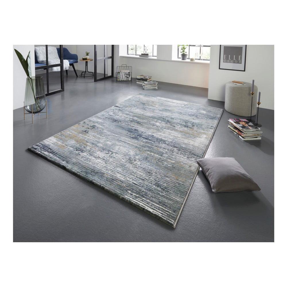 Produktové foto Šedo-modrý koberec Elle Decor Arty Trappes, 200 x 290 cm