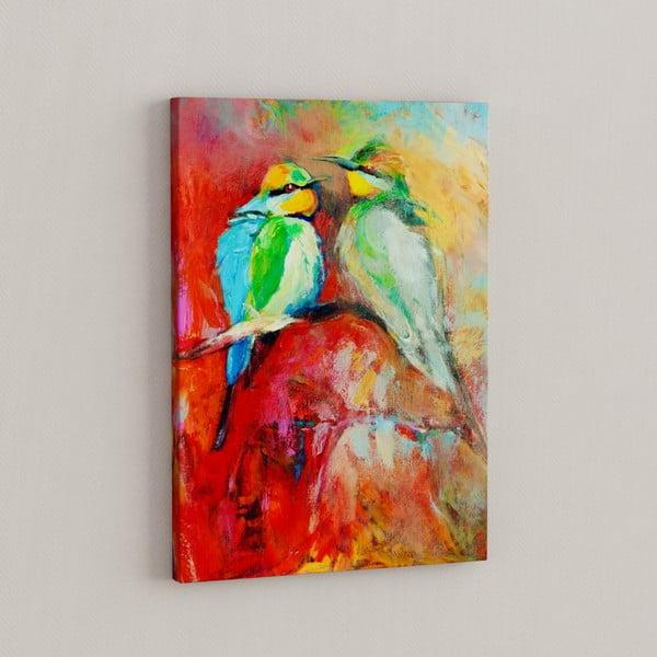 Obraz Ptáčci milují, 50x70 cm
