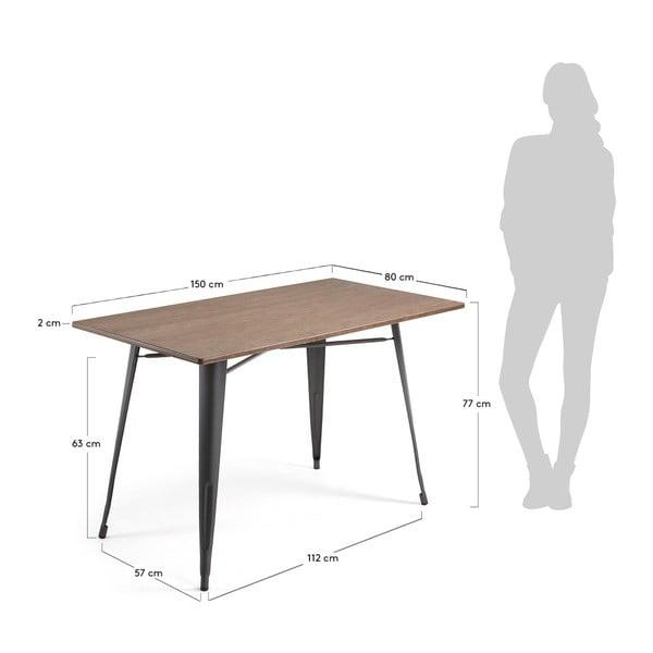 Pracovní stůl La Forma Malibu, 150 x 80 cm