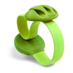 Zelená úchytka na kabely na stůl Bobino® Cable Clip