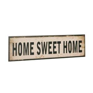 Cedule Home sweet home, 10x40 cm