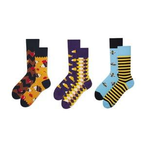 Set ponožek v dárkovém balení Many Mornings Fauna, vel.39–42