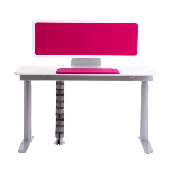 Ergo stůl, růžový