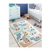 Covor pentru copii Baby Car, 100 x 150 cm