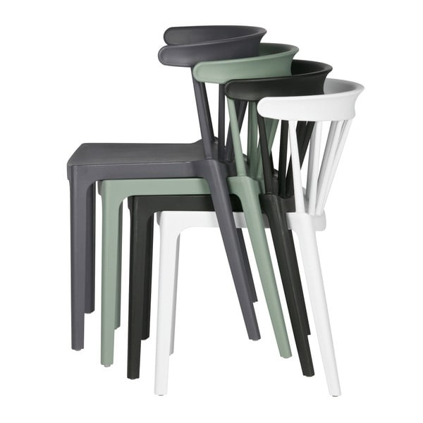 Sada 4 bílých židlí De Eekhoorn Daan