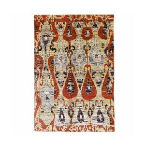 Ručně tkaný koberec Ikat Kanta, 170x260cm