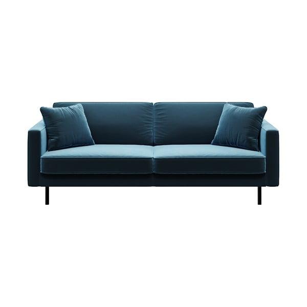 Modrá 3místná pohovka MESONICA Kobo