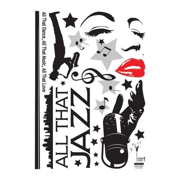 Samolepka Jazz Singer