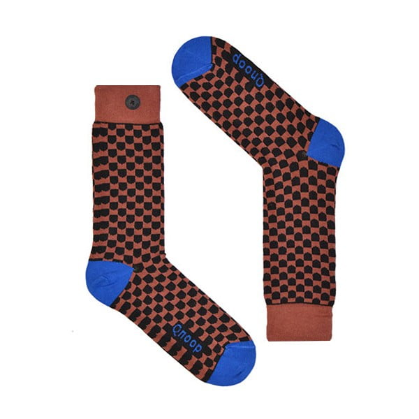 Ponožky Qnoop Shield Marsala, vel. 43-46