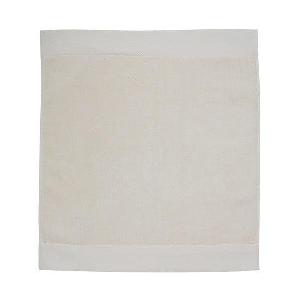 Krémová koupelnová předložka Seahorse Pure, 50x60cm
