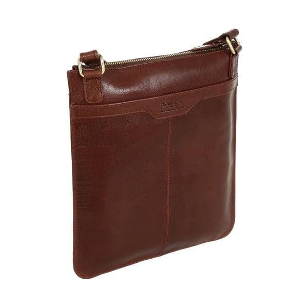 Dámská kožená taška Lilia Brown