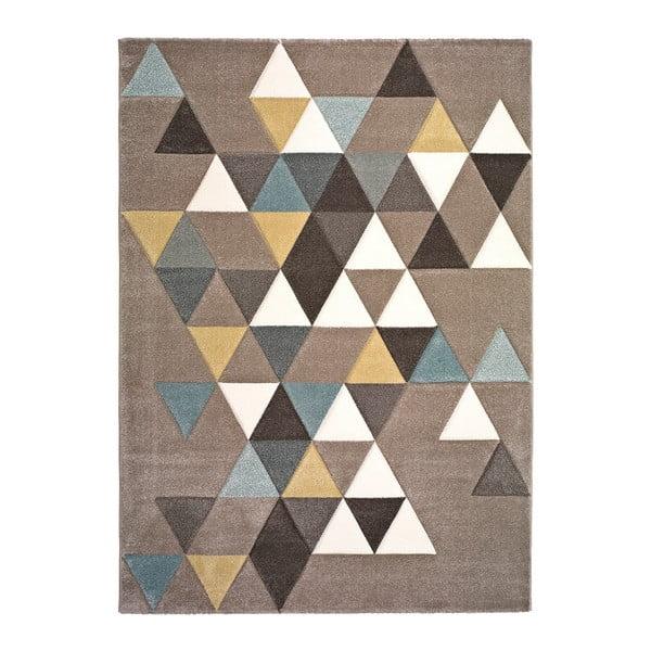 Gris Multi Triangle szőnyeg, 140 x 200 cm - Universal