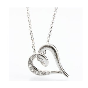 Colier Swarovski Elements Laura Bruni Heart Crystal