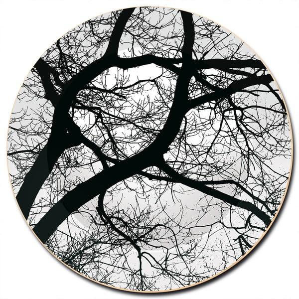 Dřevěný talíř Old Trees