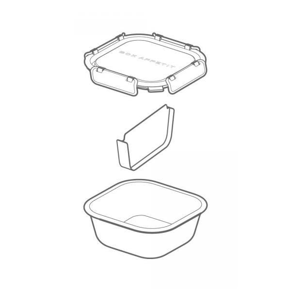 Svačinový box Lunch Box, 930 ml