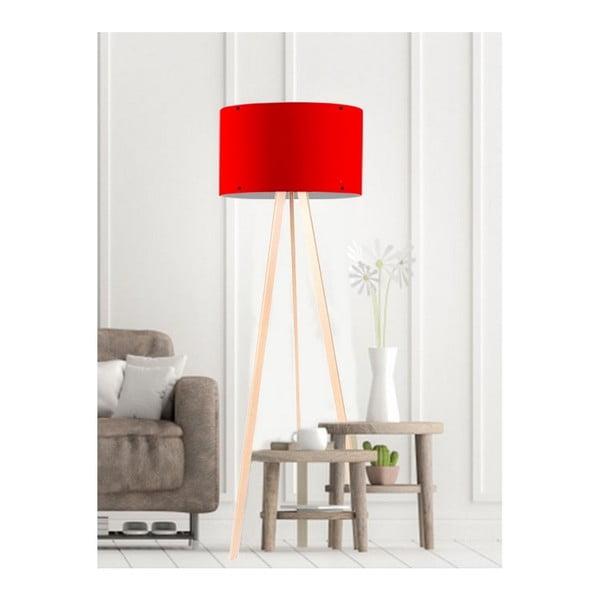 Simple piros állólámpa