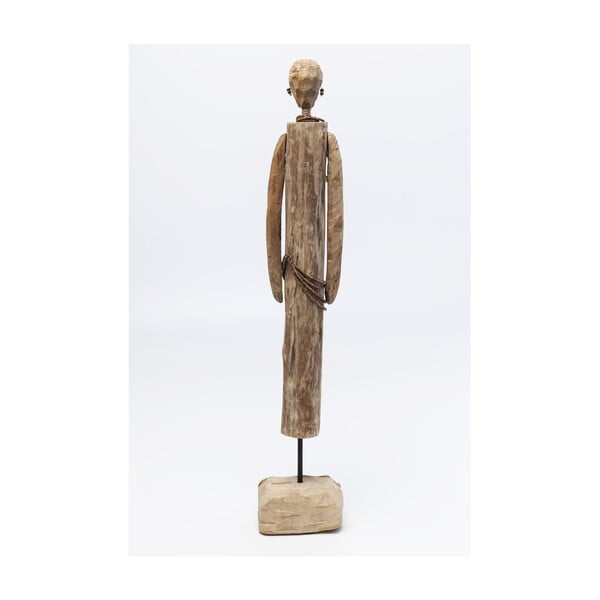Dekorace zmangového dřeva Kare Design African Man