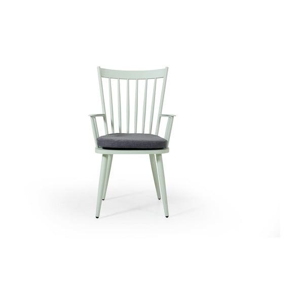 Sada 2 zelených zahradních židlí Brafab Alvena