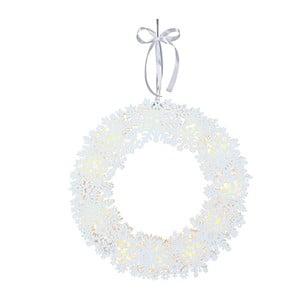 Svítící dekorace Best Season Snowflake Wreath, ⌀ 45 cm