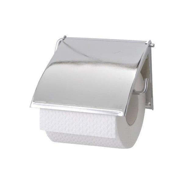Uchwyt ścienny na papier toaletowy ze stali nierdzewnej Wenko Cover
