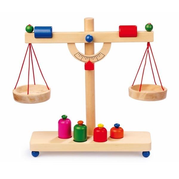 Cântar, jucărie din lemn Legler Beam Scales