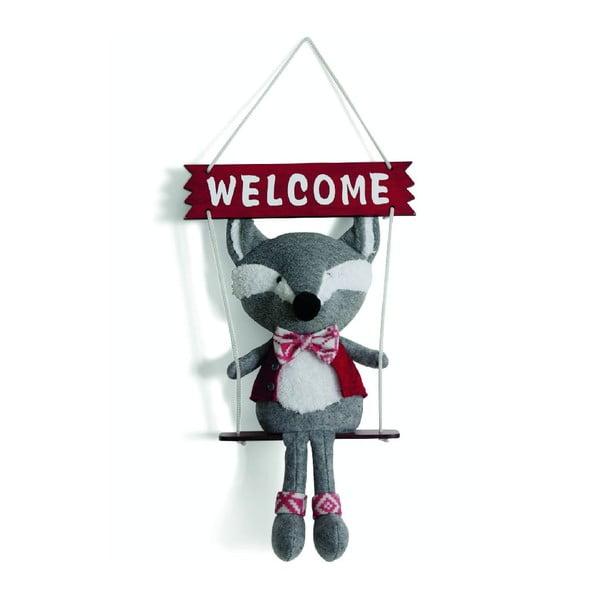 Dekorace Welcome Fox